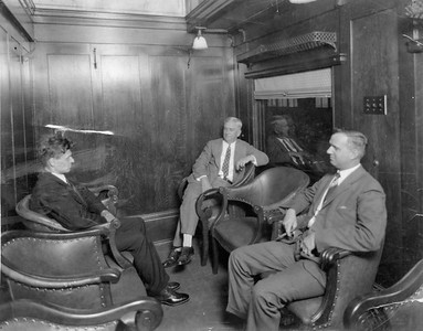 2020.016.PH.009--phil weibler collection 8x10 print--CRI&P--obs-parlor car 760 interior built in RI shops--location unknown--1926 0600