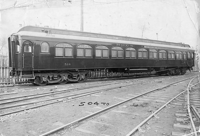 2020.016.PH.001M--phil weibler collection 10x14 print--CRI&P--wooden coach 516 (AC&F lot 3416)--Jeffersonville IN--no date