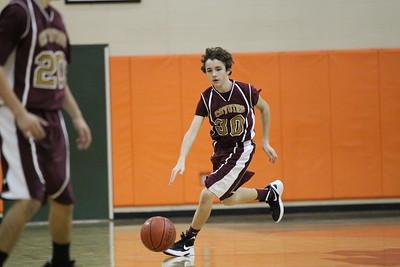 CRJH Basketball 2012