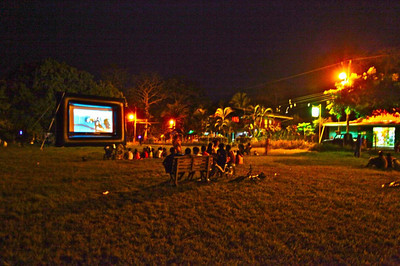 OPEN AIR CINEMA • MOVIE THEATRE