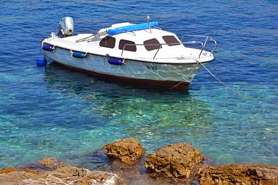 Boat Hvar Croatia