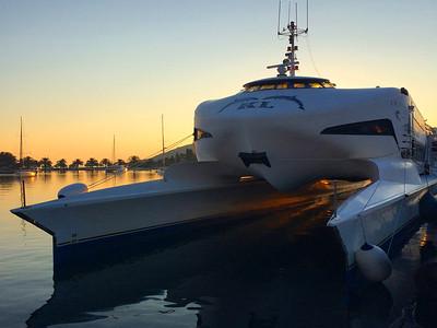 Ferry Boat Vis Croatia