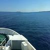 Ferry from Split to Vis Croatia
