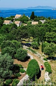 L'archipel des Elaphites en Croatie.  L'ile de Lopud.
