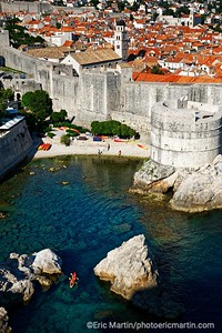 L'archipel des Elaphites en Croatie. Dubrovnik