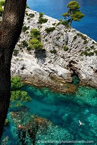 L'archipel des Elaphites en Croatie. L'île de Kolocep.