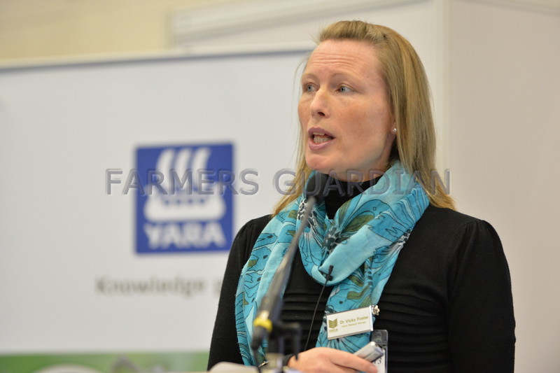 Dr Vicky Foster - Senior research and knowledge transfer manager - HGCA
