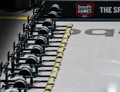 CROSSFIT GAMES 2012 SAT AM