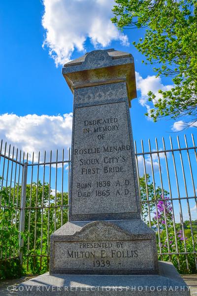 First Brides Grave - Sioux City, Iowa
