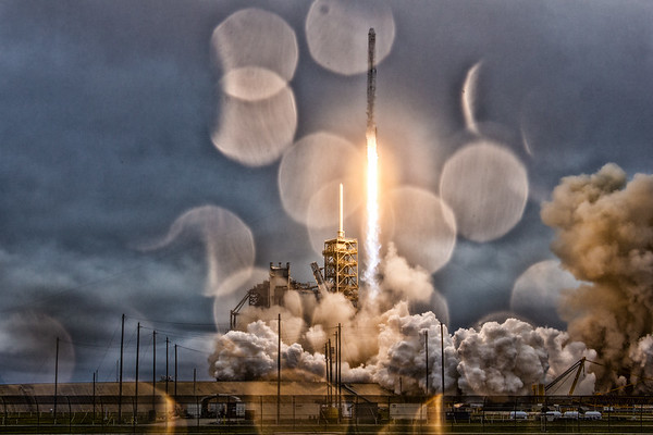 CRS10 Falcon9 by SpaceX