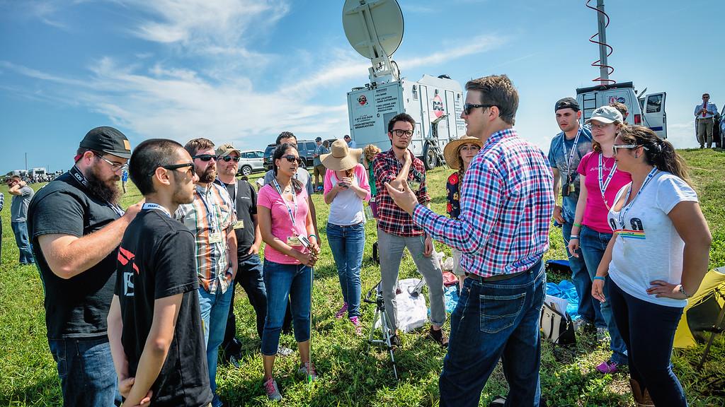 NASA Social gathering