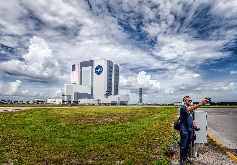 NASA VAB Selfie