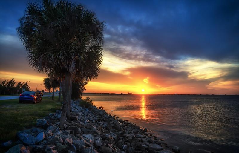 Last Florida sunset before returning home