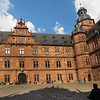 Aschaffenburg Germany, Johannisburg Castle, Interior View on Courtyard