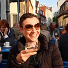 Aschaffenburg Germany, Enjoying Rhine Wine