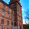 Aschaffenburg Germany, Johannisburg Castle, Cafe Scene
