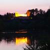 Aschaffenburg Germany, Twilight View on Pompejanum