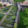 Aschaffenburg Germany, Johannisburg Castle, Medieval Garden