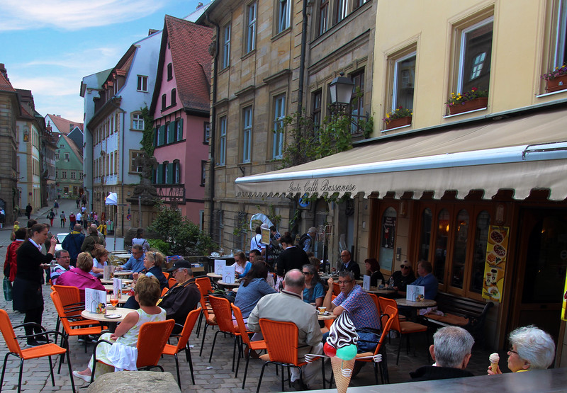 Bamberg Germany, Cafe