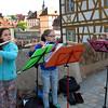 Bamberg Germany, Girls' Classical Street Concert