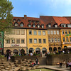 Bamberg Germany; Cafe & Park, City Center