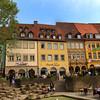 Bamberg Germany; Cafe & Park, City Center