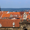 Bamberg Germany, View Over Rooftops