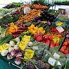 Bamberg Germany, Spring Vegetables in Market