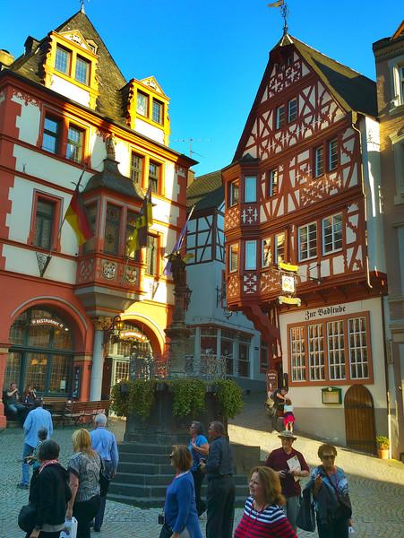 Bernkastel Germany, Town Square