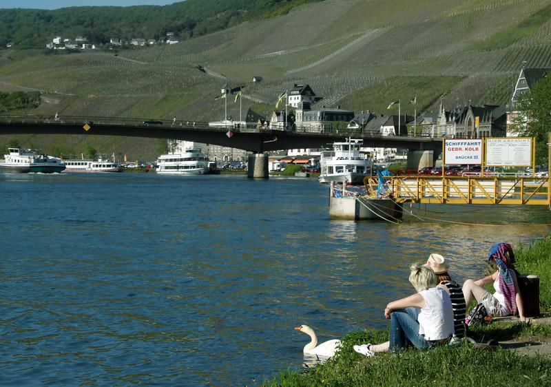 Viking River Cruise, Paris to Prague, Bernkastel Germany