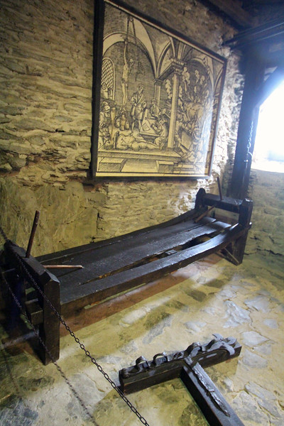 Braubach Germany, Marksburg Castle, Torture Chamber