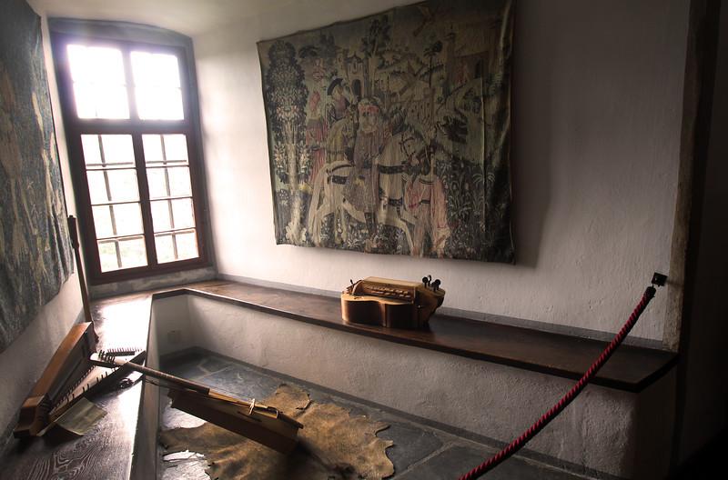 Braubach Germany, Marksburg Castle, Music Room