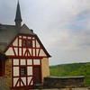 Braubach Germany, Marksburg Castle, Half-Timbered Chapel