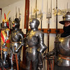 Braubach Germany, Marksburg Castle, Display of Historic Armor