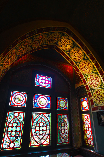 Viking River Cruise, Cochem Germany, Reichsburg Castle, Centuries-Old stained glass