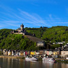 Viking River Cruise,, Cochem Germany, Panorama View on Town with Castle