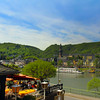 Viking River Cruise, Cochem Germany, View on Moselle and Town