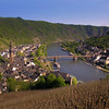 Viking River Cruise, Cochem Germany, View on Town &  Moselle River