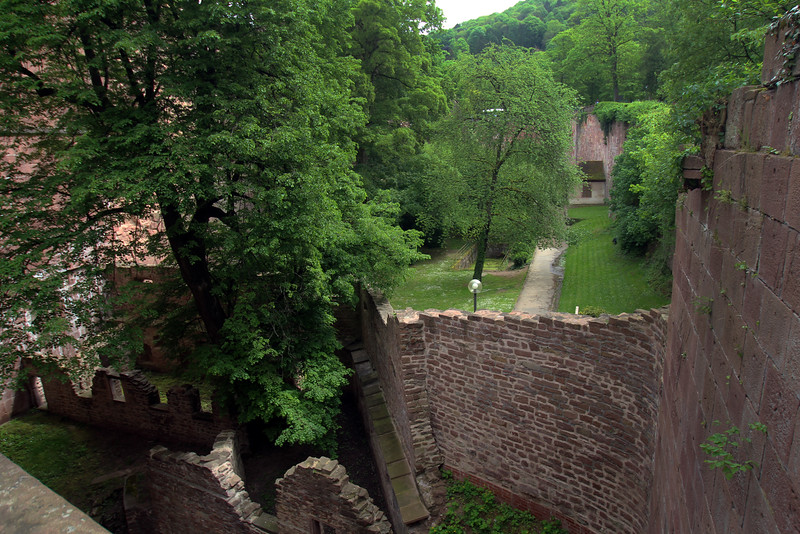 Heidelberg Castle, Walls and Gardens