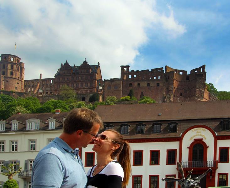 Heidelberg Germany, Romantic Couple