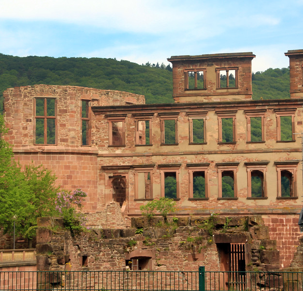 Heidelberg Germany, Heidelberg Castle Ruins