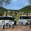 Heidelberg Germany,  Viking Cruise Busses