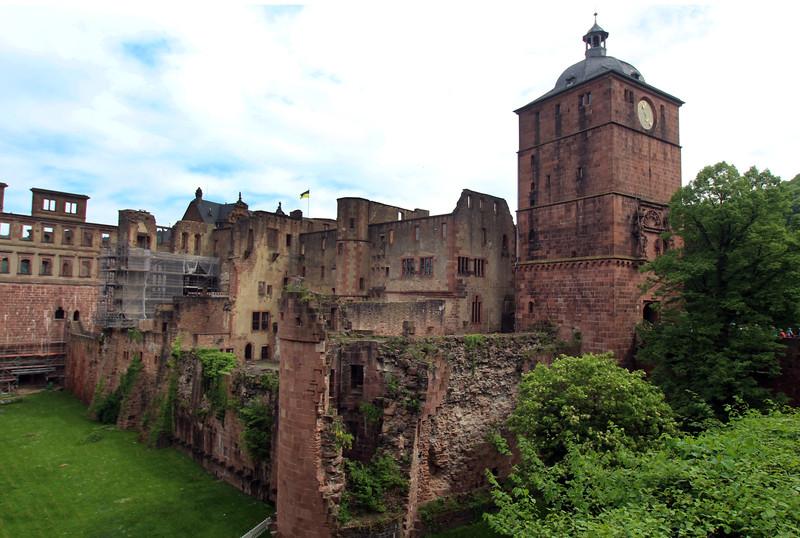 Heidelburg Germany, Castle Ruins