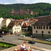 Heidelberg Germany, View on Castle from Bridge