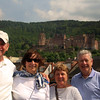 Viking River Cruise, Passengers Enjoying Heidelberg
