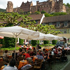 Heidelberg Germany, Cafe and Castle