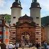 Heidelberg Germany, View on Old Bridge