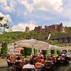 Heidelberg Germany, Cafe with View on CastleH