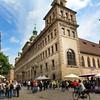 Nuremberg Germany, Rathaus Platz