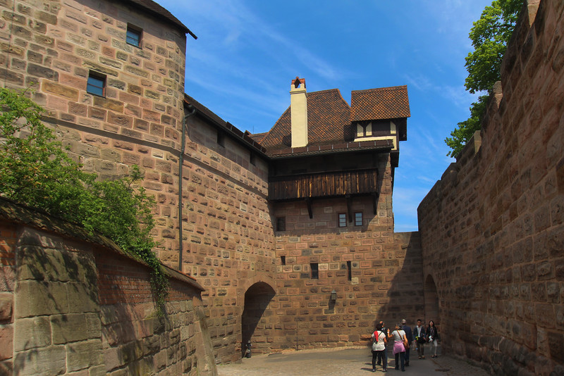 Nuremberg Germany,  Old Wall